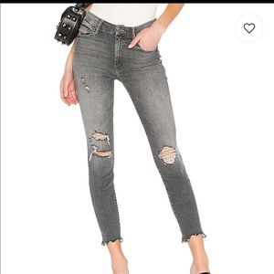 Mother Scene Of The Crime High Rise Skinny Jean